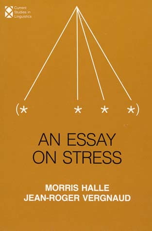 an essay on stress the mit press an essay on stress