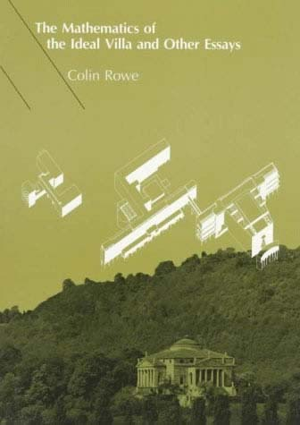Modern Architecture Vocabulary colin rowe | the mit press