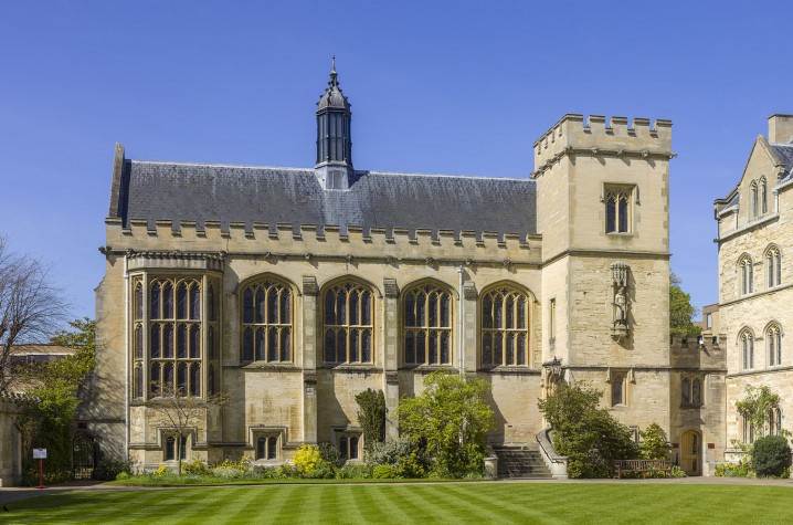 Pembroke College, Oxford, where Tolkien was a fellow. Credit: Andrew Shiva / Wikipedia / CC BY-SA 4.0.