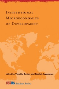 Institutional Microeconomics of Development