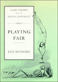 Game Theory and the Social Contract, Volume 1