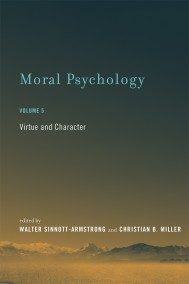 Moral Psychology, Volume 5