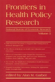 Frontiers in Health Policy Research, Volume 5