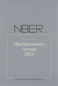 NBER Macroeconomics Annual 2003, Volume 18