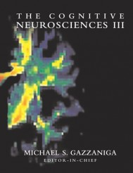 The Cognitive Neurosciences III, Third Edition