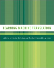 Learning Machine Translation