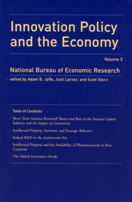 Innovation Policy and the Economy, Volume 3