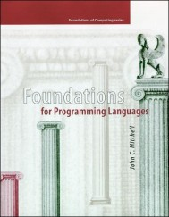Foundations for Programming Languages