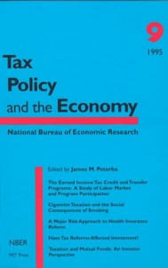 Tax Policy and the Economy, Volume 9