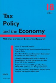 Tax Policy and the Economy, Volume 18