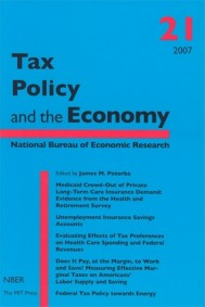 Tax Policy and the Economy, Volume 21
