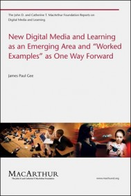 "New Digital Media and Learning as an Emerging Area and ""Worked Examples"" as One Way Forward"