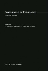 Fundamentals of Mathematics, Volume 3