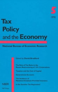 Tax Policy and the Economy, Volume 5