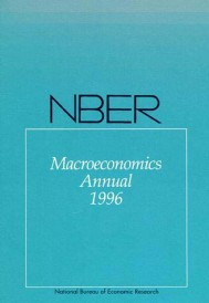 NBER Macroeconomics Annual 1996