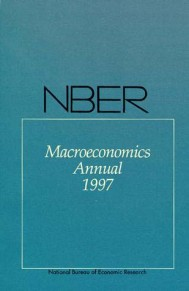 NBER Macroeconomics Annual 1997