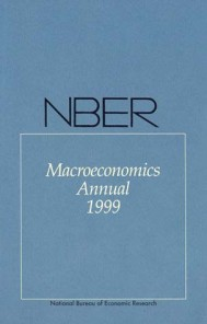 NBER Macroeconomics Annual 1999