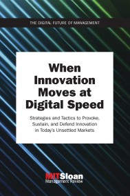 When Innovation Moves at Digital Speed