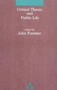 Critical Theory and Public Life