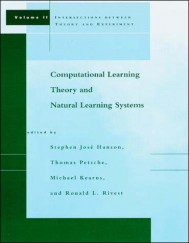 Computational Learning Theory and Natural Learning Systems, Volume 2