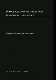 Principles and Methods for Historical Linguistics