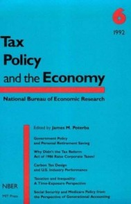Tax Policy and the Economy, Volume 6