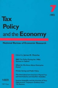 Tax Policy and the Economy, Volume 7