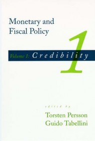 Monetary and Fiscal Policy, Volume 1