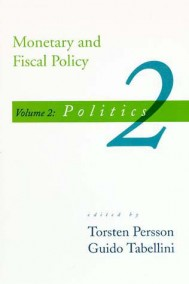 Monetary and Fiscal Policy, Volume 2