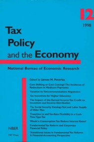 Tax Policy and the Economy, Volume 12