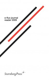 e-flux journal reader 2009