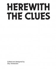 Herewith the Clues