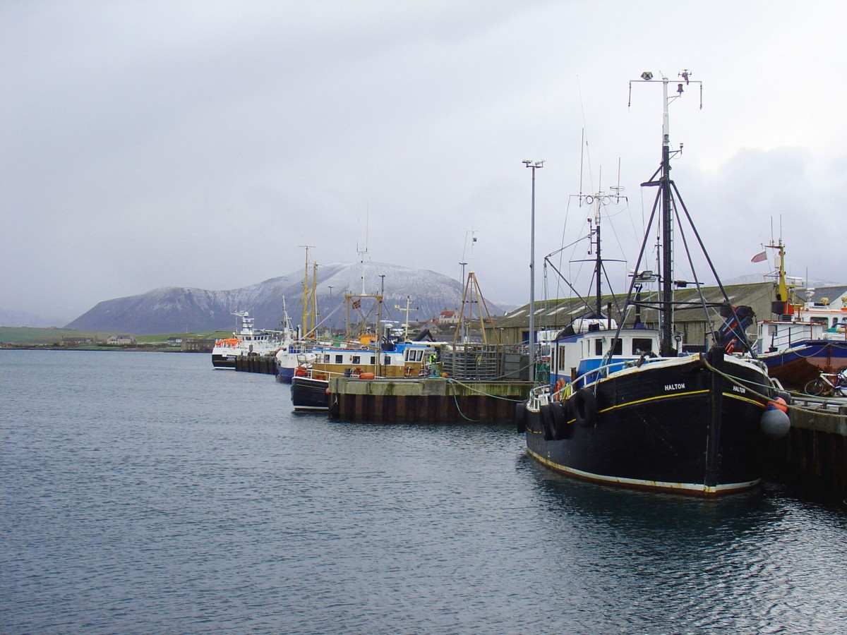Stromness harbour, Orkney. © Laura Watts
