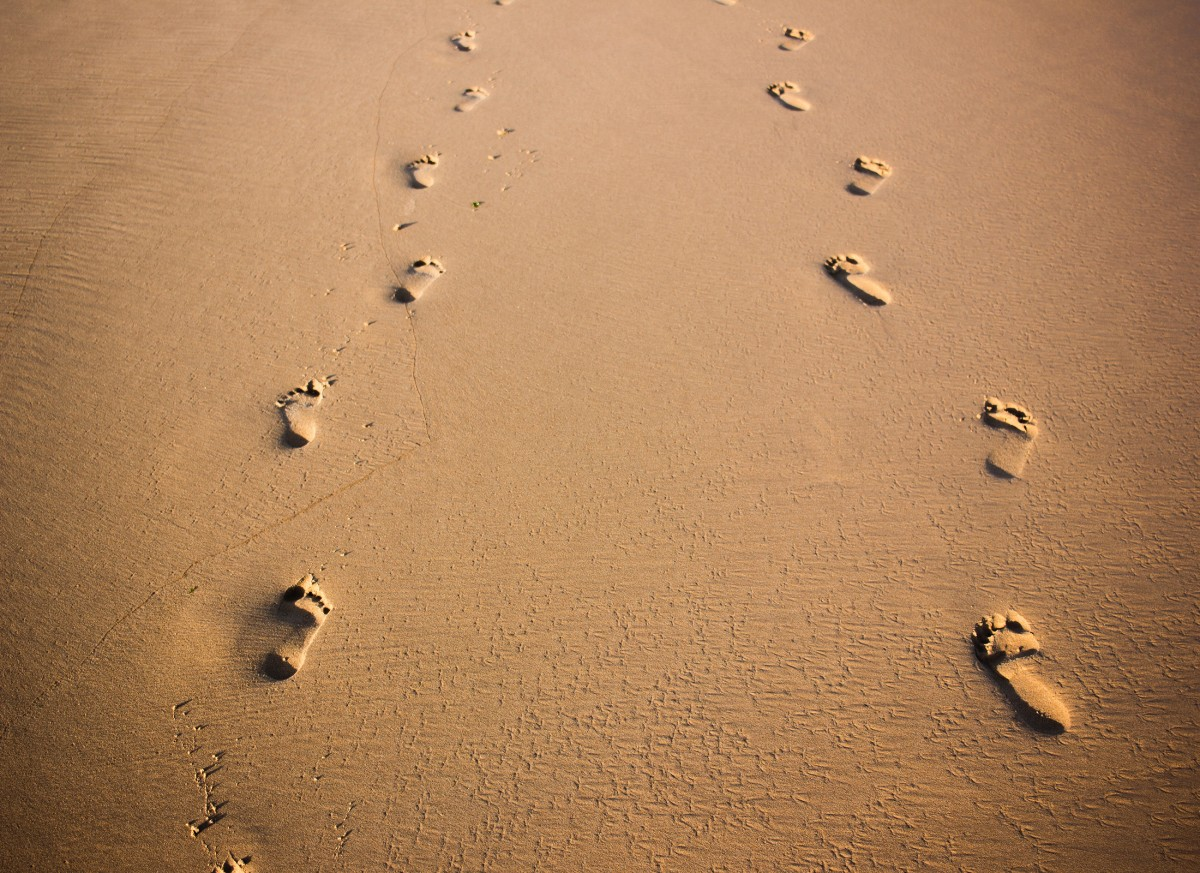 tracking footprints