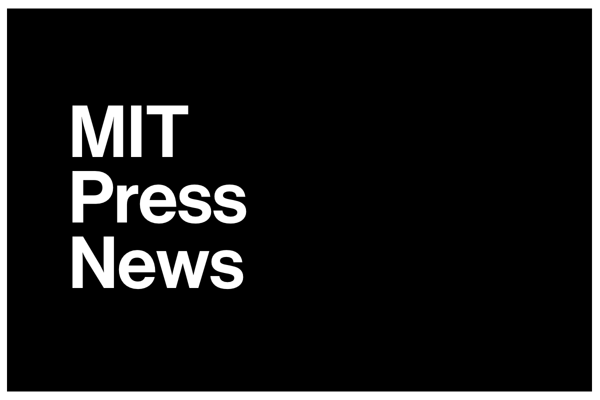 "The text ""MIT Press News"" on a black background."