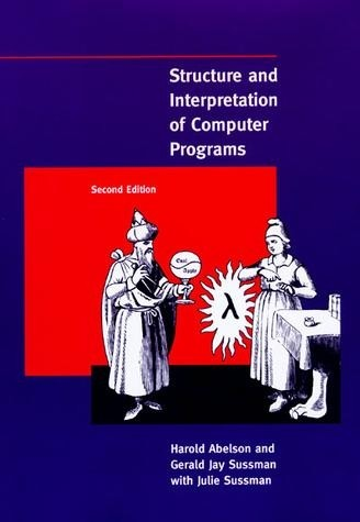 Picture of the cover of the book entitled Structure and Interpretation of Computer Programs