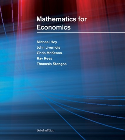 Mathematics for Economics, Third Edition