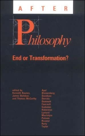 After Philosophy