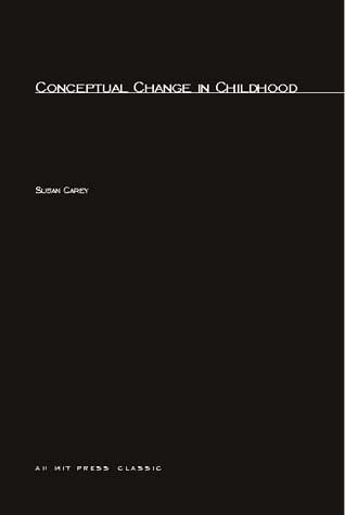 Conceptual Change In Childhood