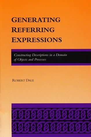 Generating Referring Expressions