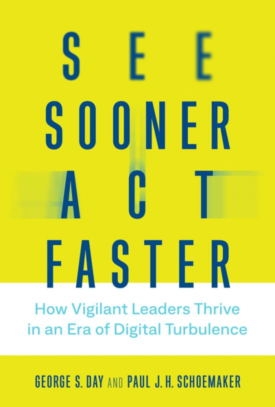 See Sooner, Act Faster