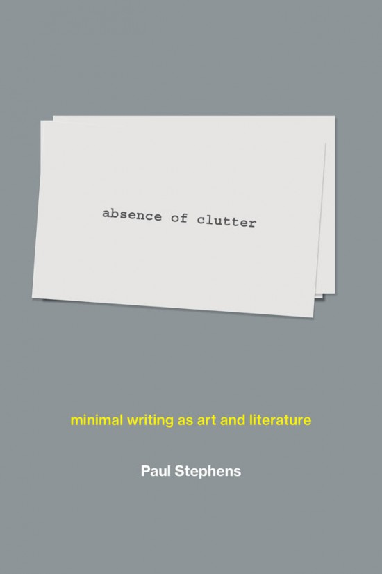 absence of clutter