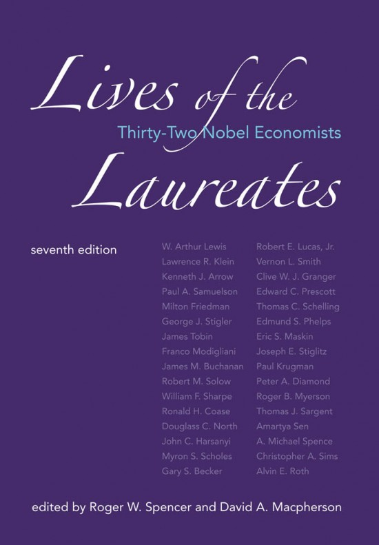 Lives of the Laureates, Seventh Edition
