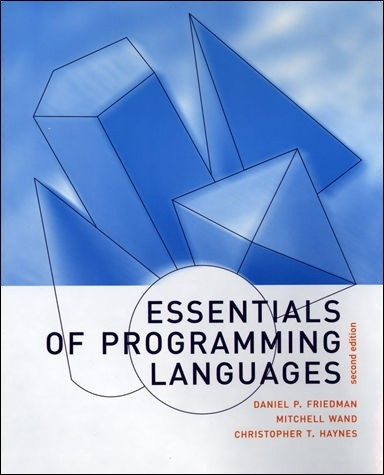 Essentials of Programming Languages, Second Edition