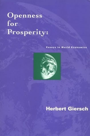Openness for Prosperity