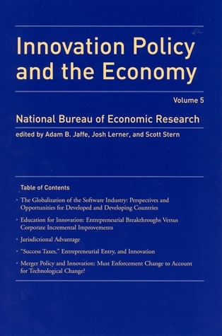 Innovation Policy and the Economy, Volume 5