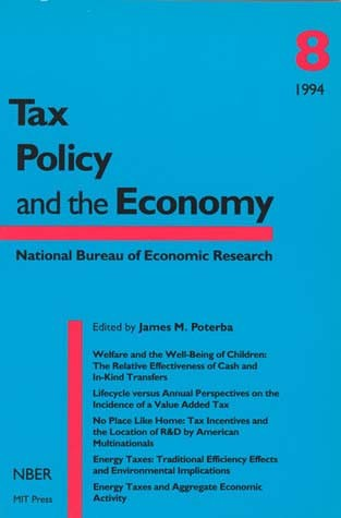 Tax Policy and the Economy, Volume 8