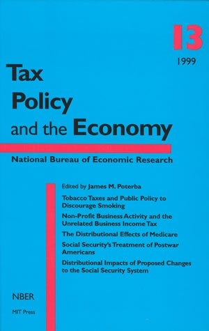 Tax Policy and the Economy, Volume 13