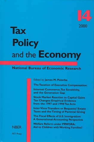 Tax Policy and the Economy, Volume 14