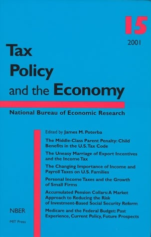 Tax Policy and the Economy, Volume 15